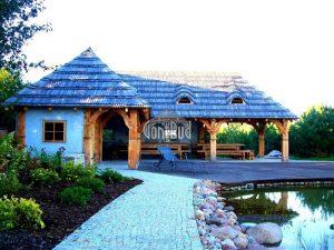 altana biesiadna wiata weselna altanka restauracyjna projekt altana weselna grill chata