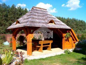 altana ogrodowa projekt altanka drewniana garaże drewniane