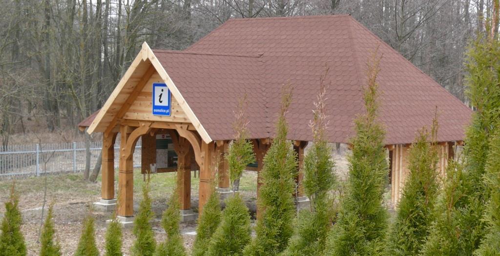 garaż drewniany wiata drewniana altana biesiadna altanka