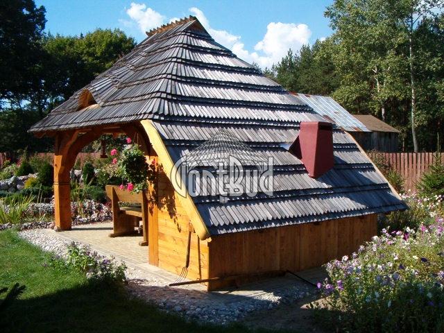 altana ogrodowa projekt altanka drewniana altana z grillem