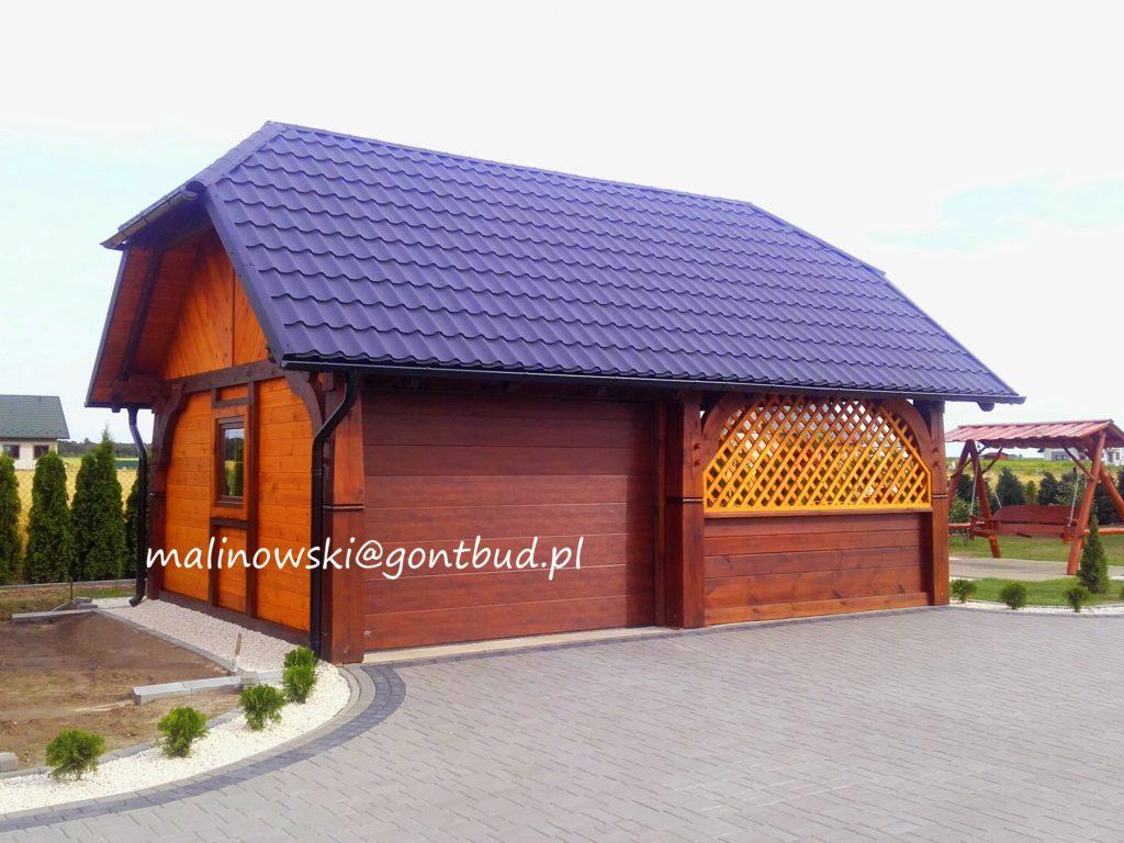 Garaże Drewniane Gontbud